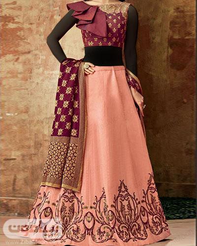 لباس هندی دخترانه شیک با طراحی جدید و مدرن