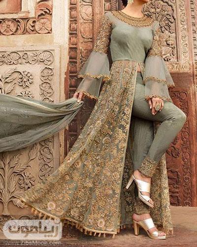 مدل لباس هندی دحترانه با طراحی جدید 2020
