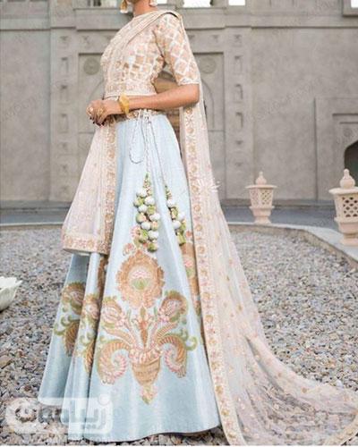 مدل لباس هندی دخترانه خاص و خیره کننده