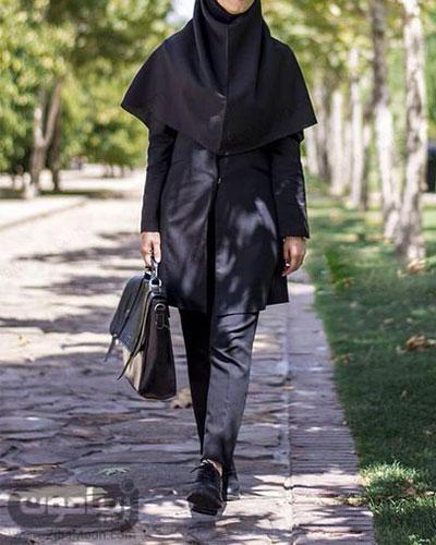 مدل تیپ دانشجویی دخترونه ساده و شیک باحجاب