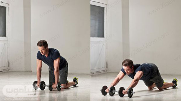 تمرین ورزشی جمع کردن