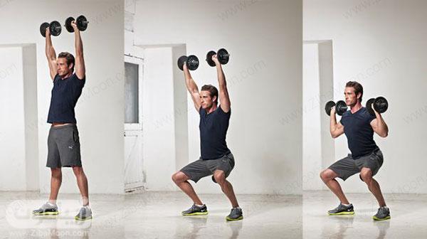 تمرین ورزشی برای تقویت عضلات کمر و پشت