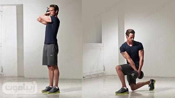 تمرین ورزشی وود چاپ