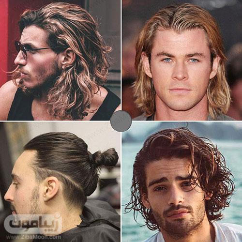 انواع مدل مو بلند مردانه و پسرانه
