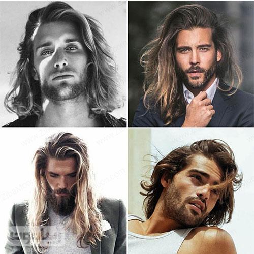 مدل مو مردانه بلند و صاف