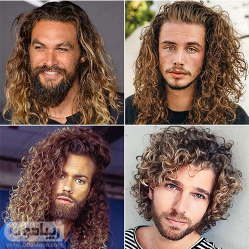 مدل مو مردانه بلند و فر