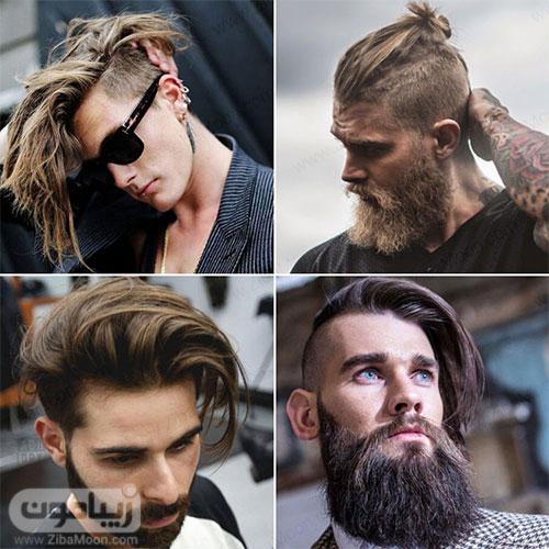مدل مو بلند پسرانه با آندرکات