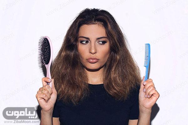 انتخاب شانه مو مناسب