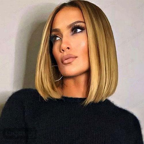 مدل موی مصری بلند با رنگ موی بلوند