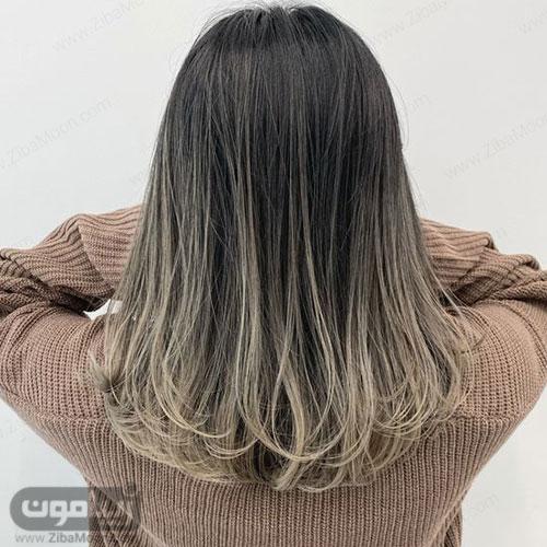 عکس مدل مو مصری بلند و کلوش از نمای پشت مو