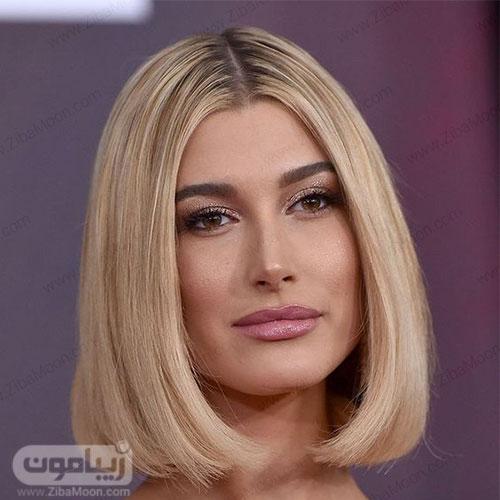 عکسمدل مو مصری دخترانه فرق از وسط