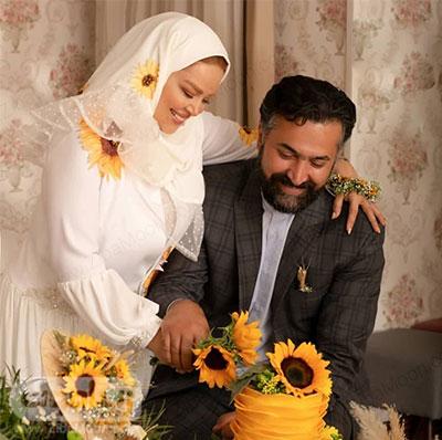 عکس سالگرد ازدواج بهاره رهنما و امیرخسرو عباسی