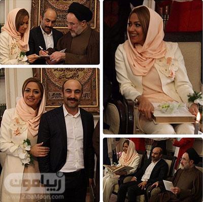 عکس عروسی محسن تنابنده
