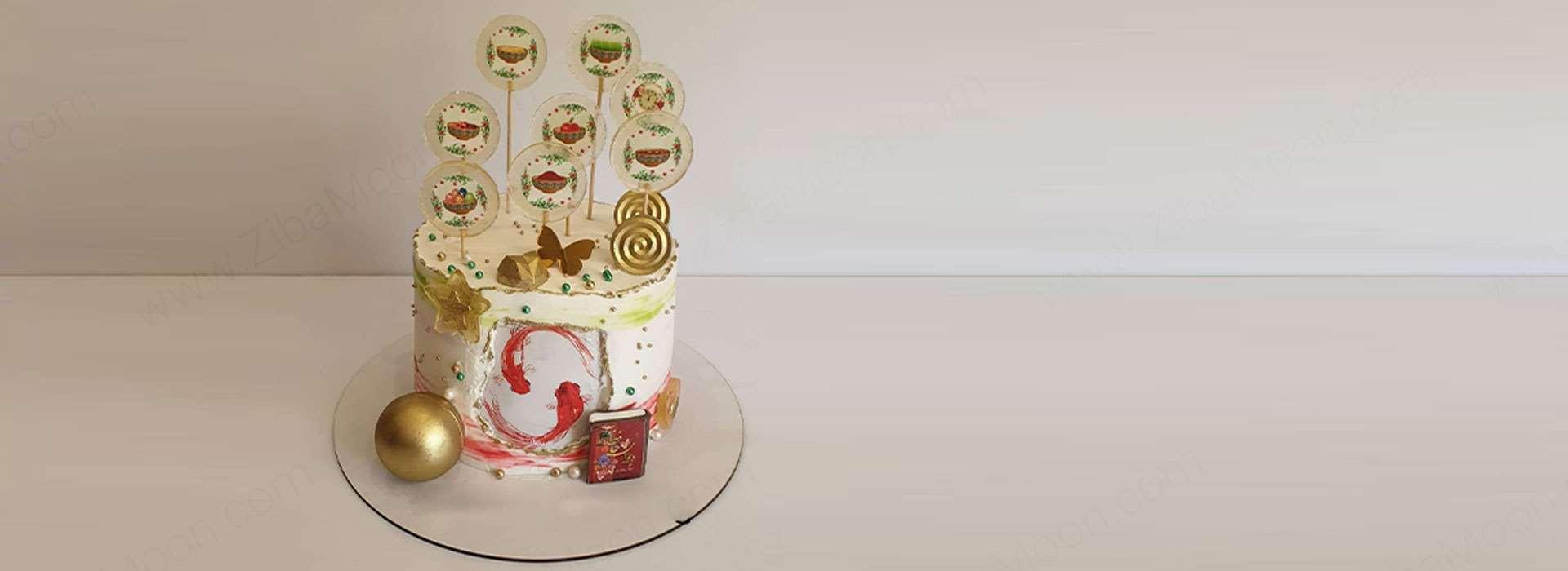 مدل کیک سفره هفت سین 1400 + طرز تهیه و تزیین