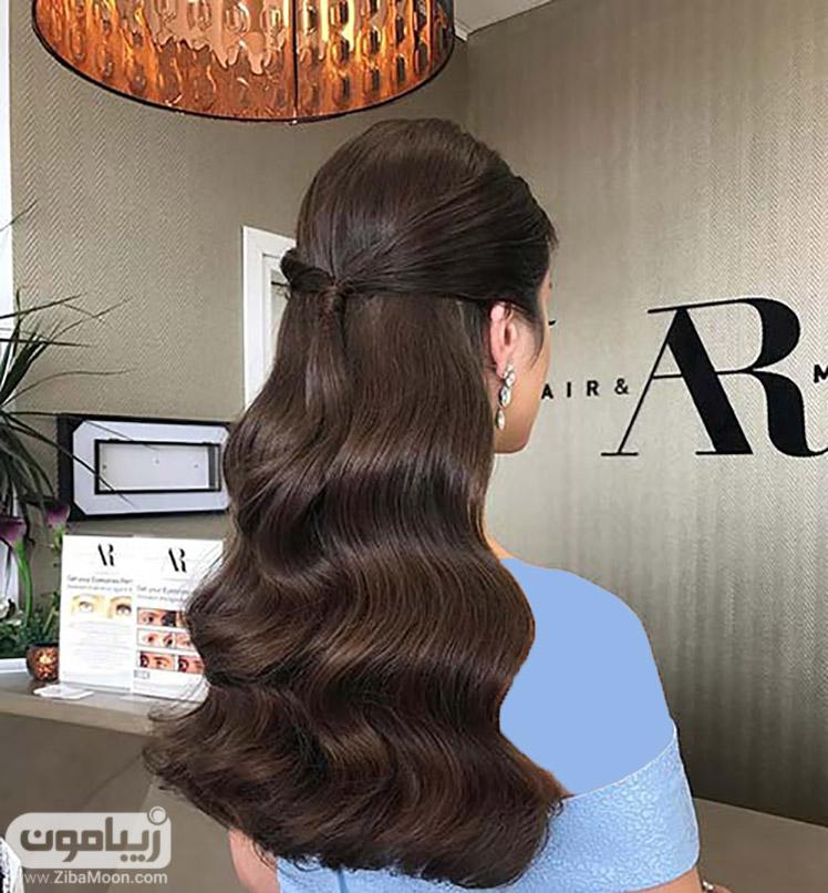 مدل موی باز و موج دار