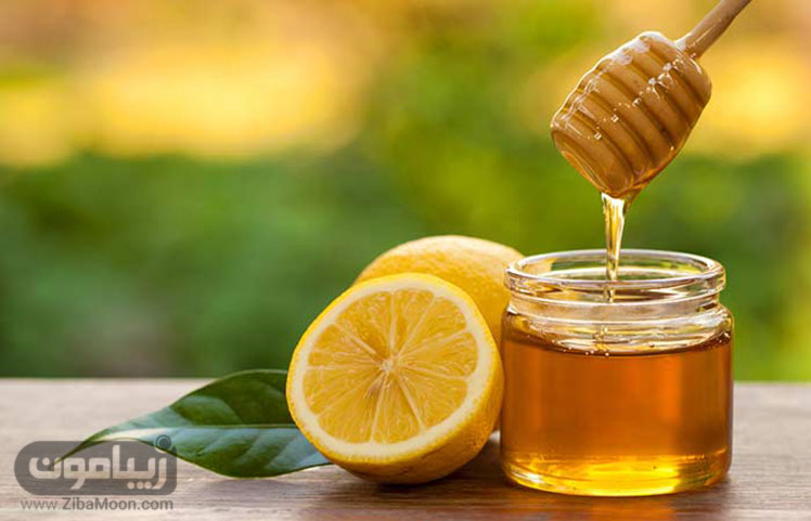 ماسک مو عسل و آب لیمو