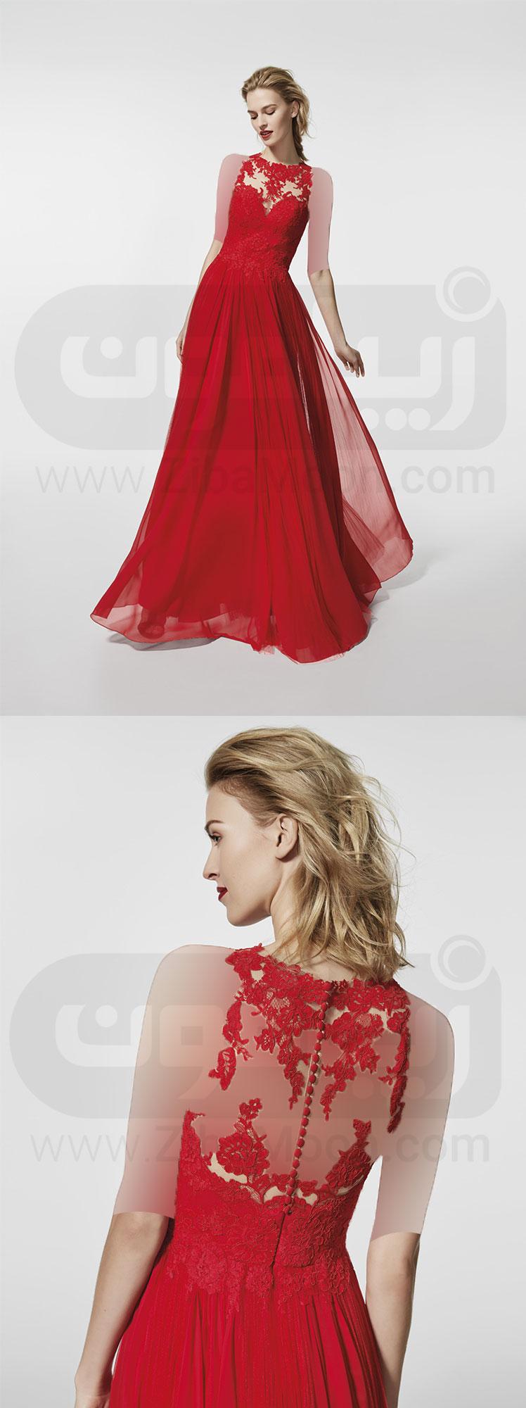 تتو روی ران لباس مجلسی - شیک ترین و جدیدترین مدل های 2017 - زیبامون