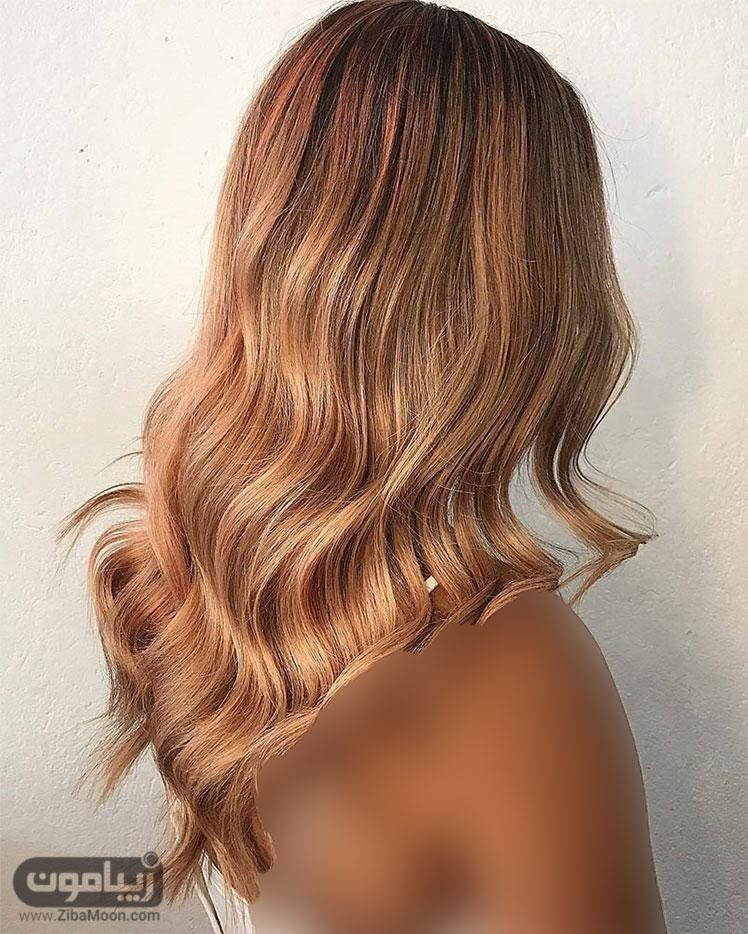 رنگ موی سال2017