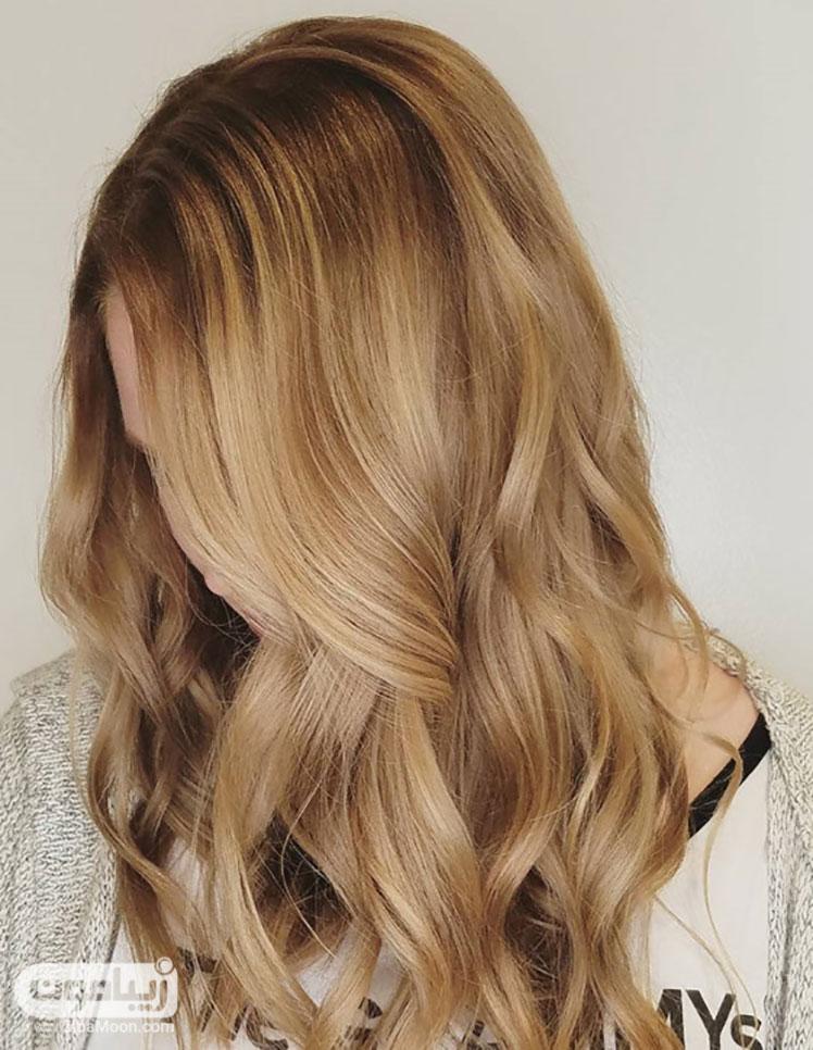 رنگ موی طلایی