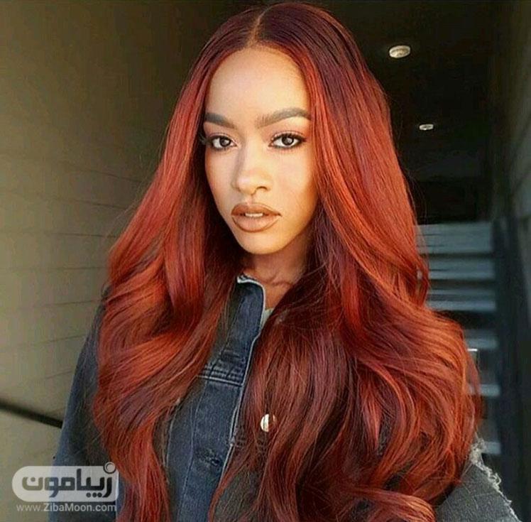 رنگ و مش قرمز