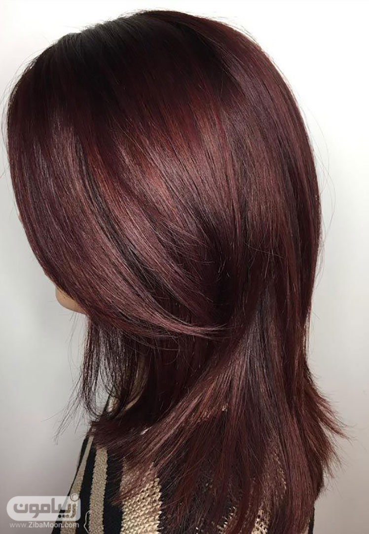 رنگ موی ماهاگونی زیبامون