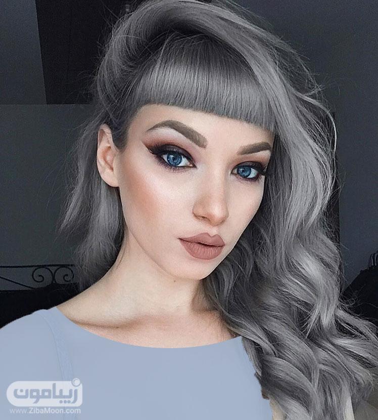 مدل مو چتری بلند دخترانه