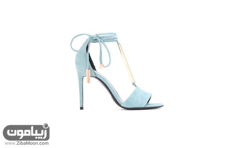 صندل عروس آبی رنگ