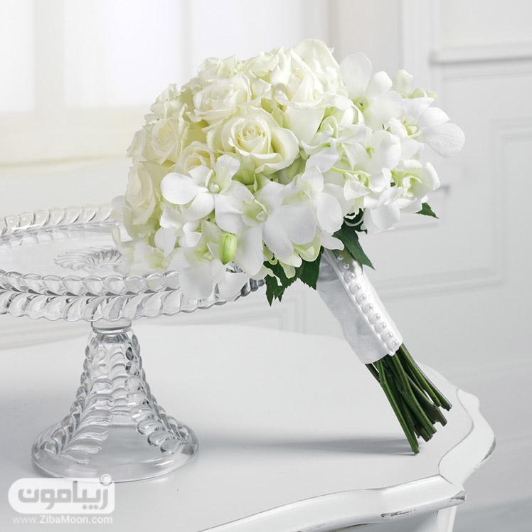 White Wedding Flowers In September :