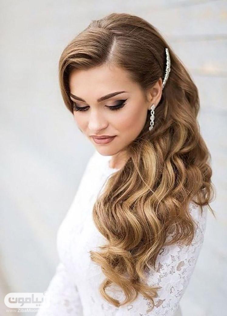 مدل موی باز برای عروس زیبامون