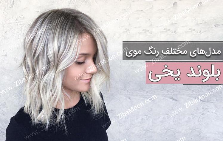 آموزش ترکیب رنگ موی صدفی