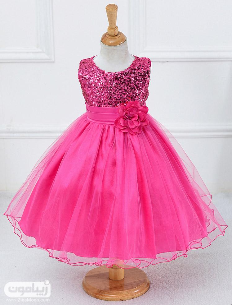 تور سر برای لباس عروس بچه دوخت لباس عروس بچه گانه | زیبامون